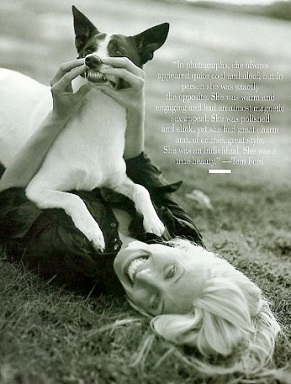 Carolyn Bessette Kennedy by Bruce Weber