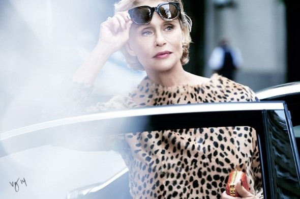 Lauren Hutton by Pamela Hanson for Violet Grey-2