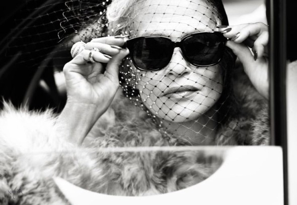 Lauren Hutton by Pamela Hanson for Violet Grey