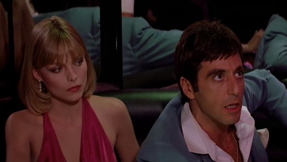 Style in film-Michelle Pfeiffer in Scarface-2