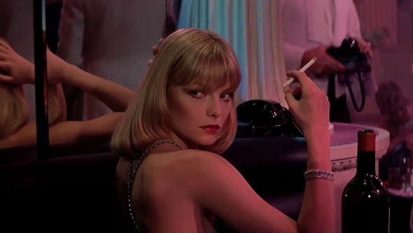 Style in film-Michelle Pfeiffer in Scarface
