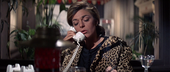 Anne Bancroft's leopard coat in The Graduate