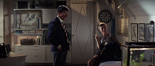 Anne Bancroft's style The Graduate