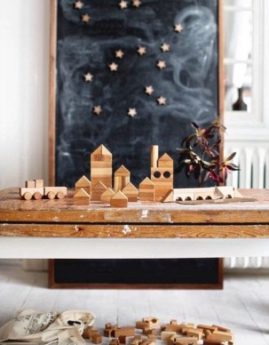 Christmas Traditions-Wooden Story