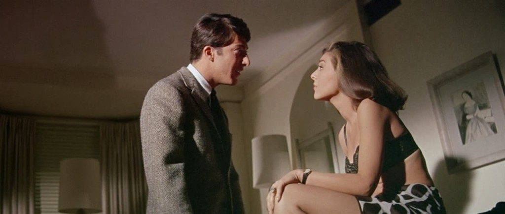 Style in film Anne Bancroft The Graduate