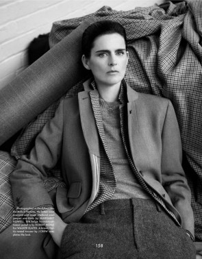 Stella Tennant for The Gentlewoman Fall Winter 2013-2014 by Benjamin Alexander Huseby