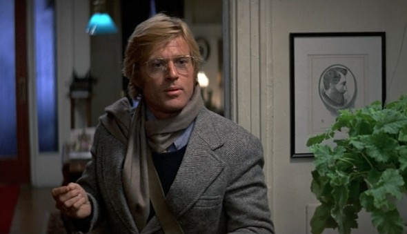 Style in film-Robert Redford in Three Days Of The Condor 1975