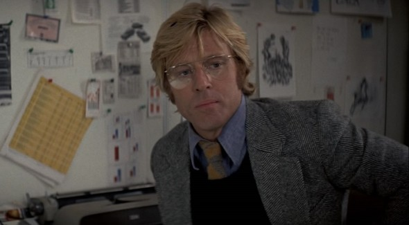 Style in film-Robert Redford in Three Days Of The Condor