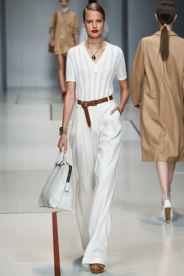 Spring 2015 Trends I Can Work-Light Knitwear-Trussardi