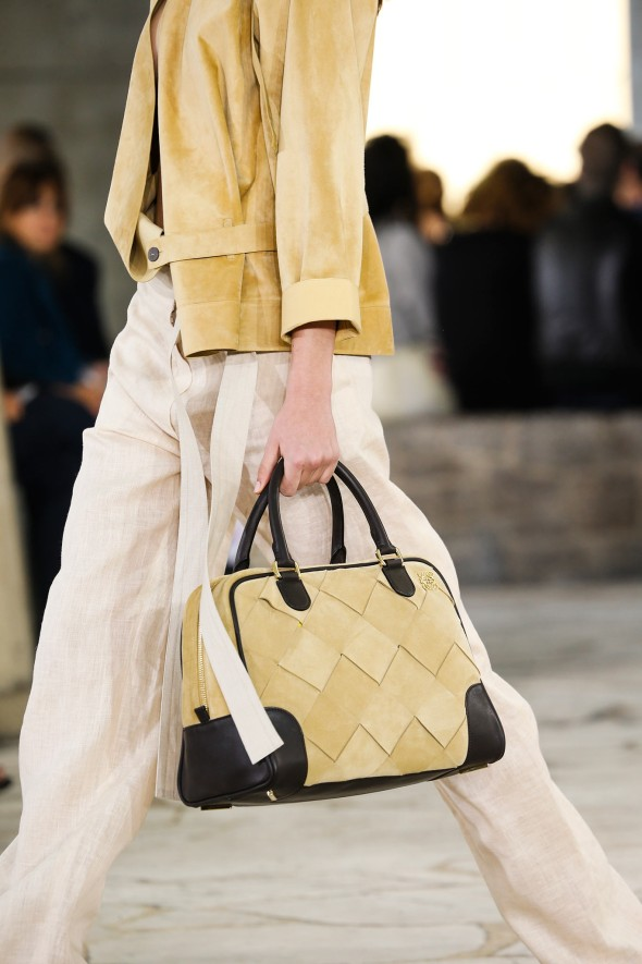 Spring 2015 Trends I Can Work: Suede-Loewe
