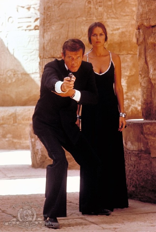 Barbara Bach's memorable dress in The Spy Who Loved Me