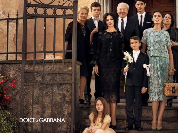 Dolce & Gabbana SS 2012 campaign