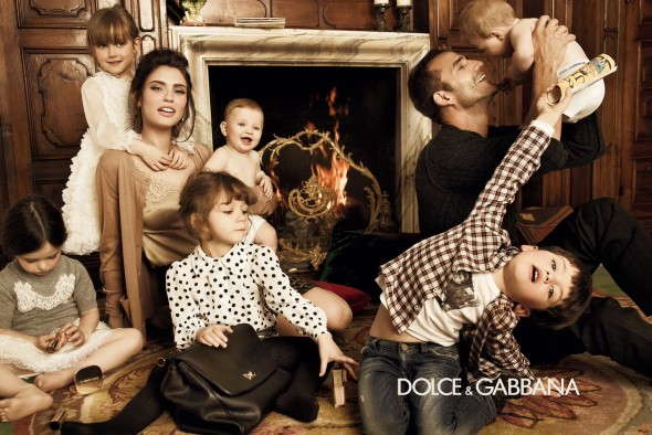 Dolce & Gabbana FW 2012 campaign