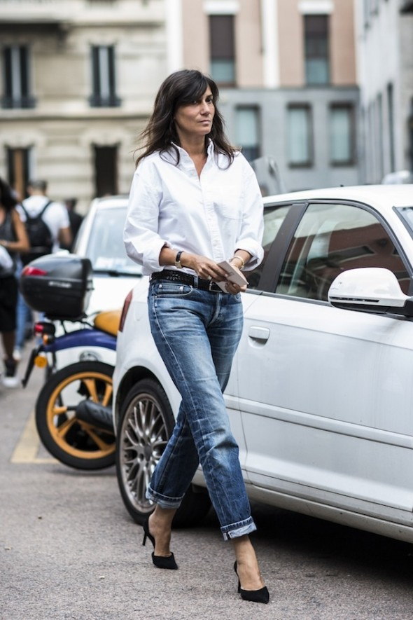 Emmanuelle Alt-the jeans look
