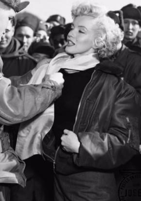 Marilyn Monroe bomber jacket