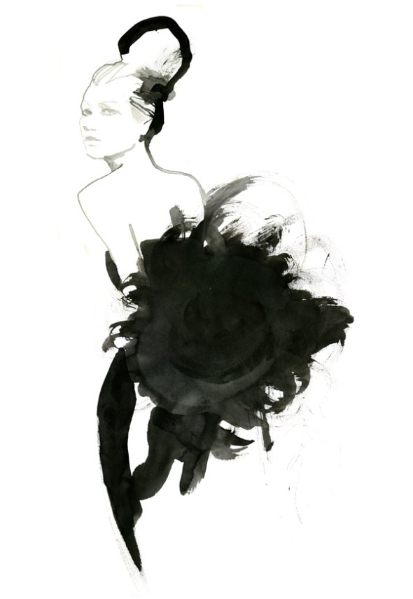 Stina Persson illustration - Never Look Back