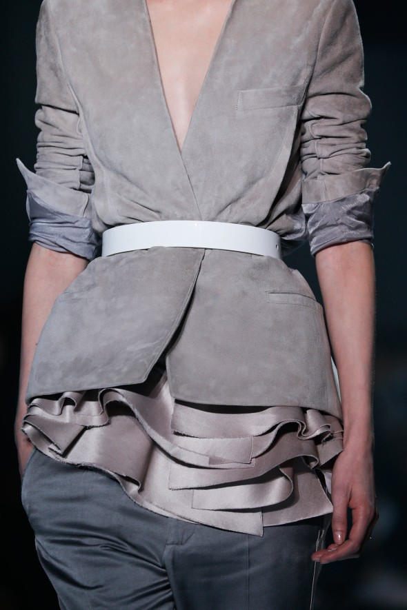 Spring 2015 trends I can work- the belt restyled- Haider Ackermann