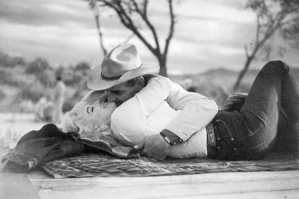 Marilyn Monroe by Eve Arnold- The Misfits