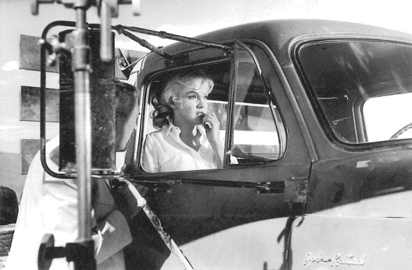 Marilyn Monroe on the set of The Misfits by Eve Arnold