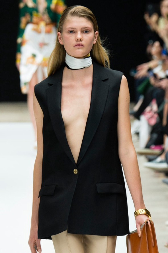 Spring2015 trends-knotted scarf-Acne Studios