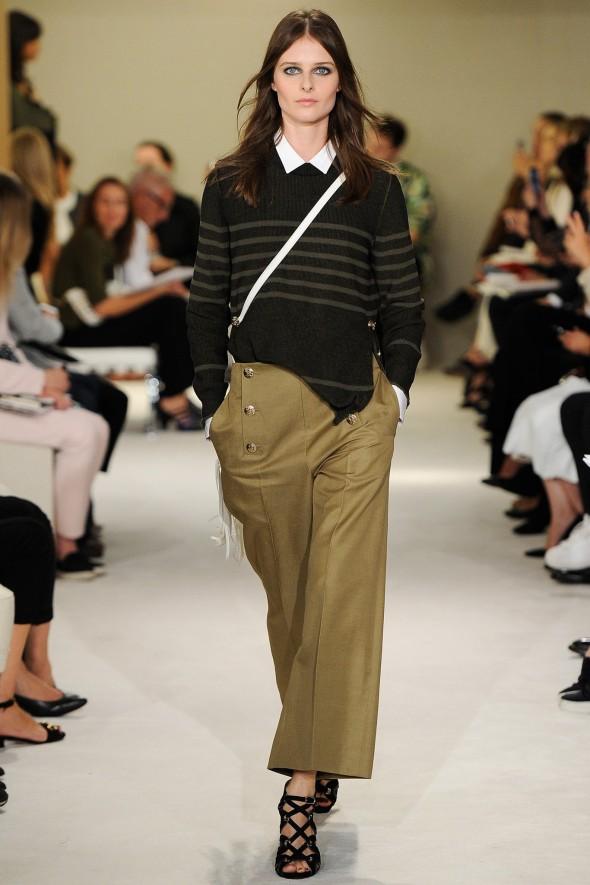 Spring 2015 trends I can work khaki- proenza schouler