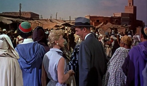 Doris Day's shirt dress The Man Who Knew Too Much