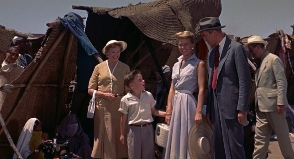 Doris Day's costumes The man who knew too much