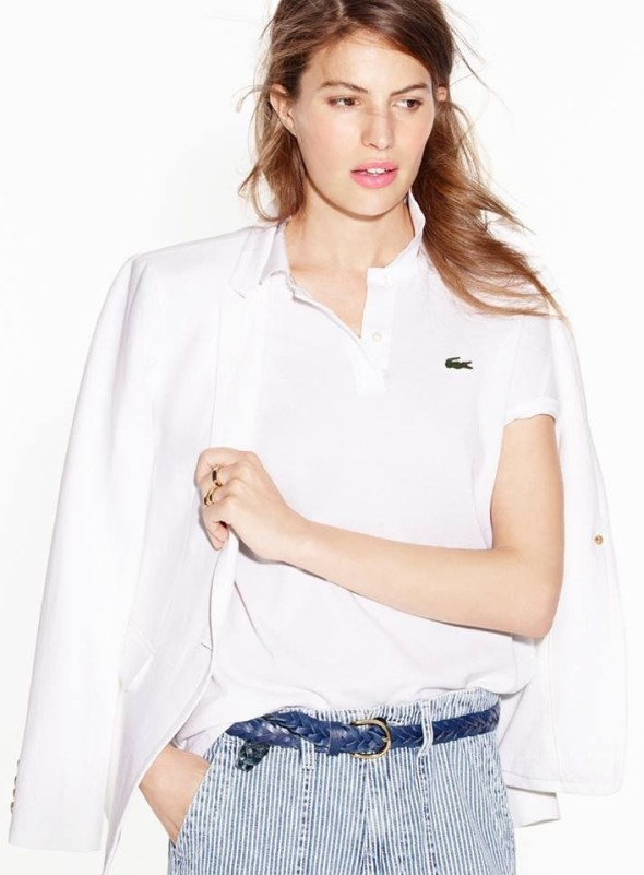 Lacoste for J Crew polo t-shirt
