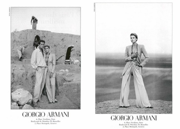 Armani by Peter Lindbergh