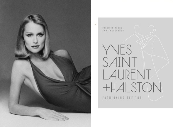 Yves Saint Laurent and Halston