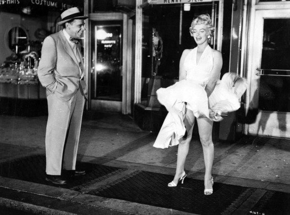 Marilyn Monroe's style in The Seven Year Itch