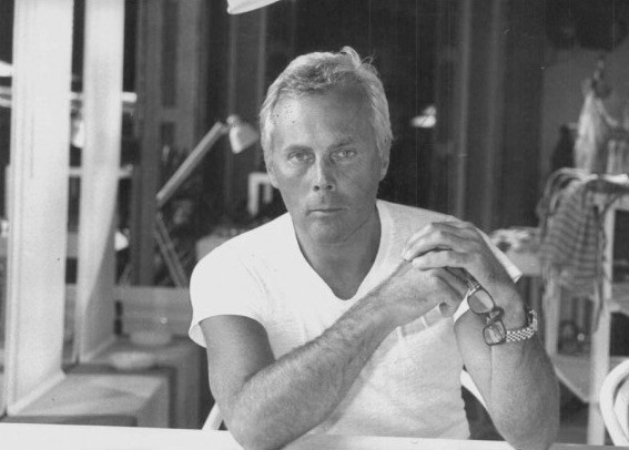 Giorgio Armani and the white t-shirt