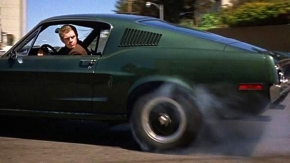 Steve McQueen Mustang Bullitt
