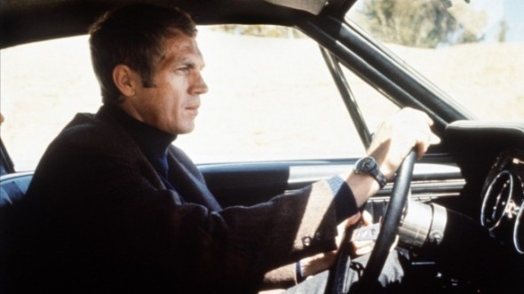 Steve McQueen in Bullitt