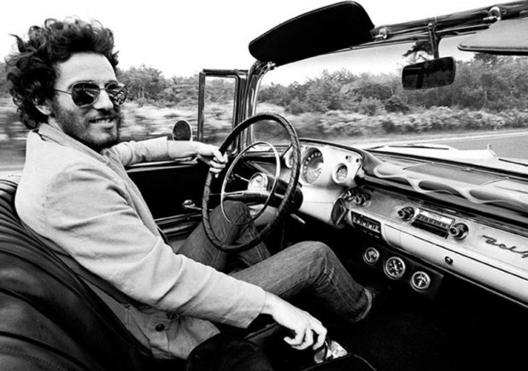 Bruce Springsteen by Eric Meola