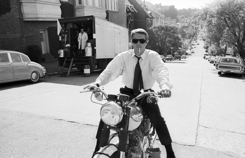 Steve McQueen by Barry Feinstein