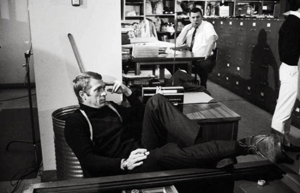 Steve McQueen by Barry Feinstein