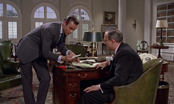 Sean Connery grey suit Dr. No