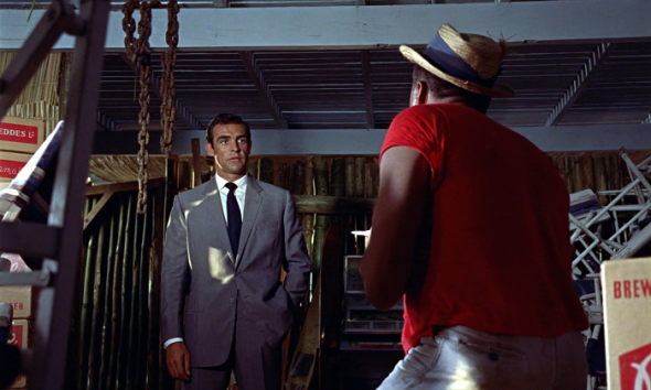 Sean Connery grey suit Dr No