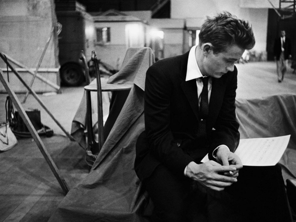 James Dean by Bob Willoughby