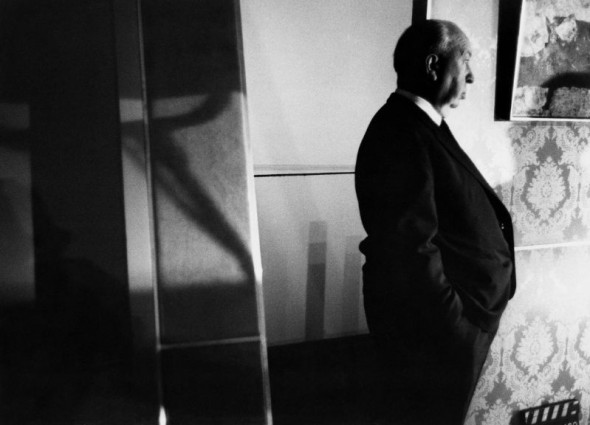 Alfred Hitchcock by Bob Willoughby