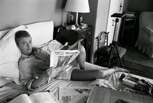 Jean Seberg by Bob Willoughby