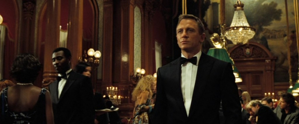 Daniel Craig tuxedo Casino Royale