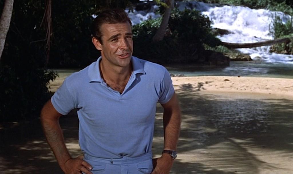 Sean Connery James Bond polo t-shirt Dr No