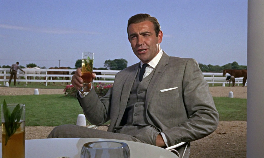 Sean Connery grey suit James Bond