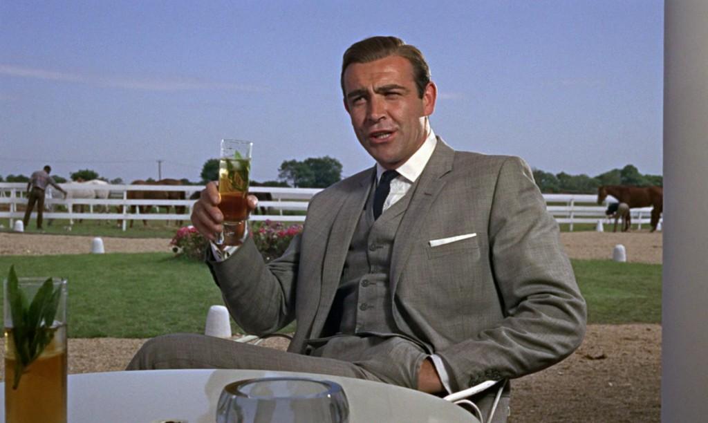 Sean Connery grey suit James Bond
