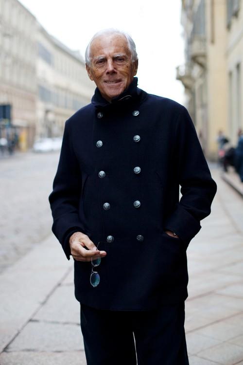 Giorgio Armani peacoat