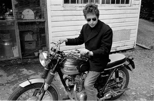 Bob Dylan peacoat