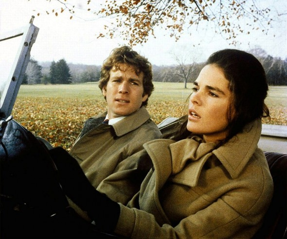 Ali MacGraw's camel coat Love Story