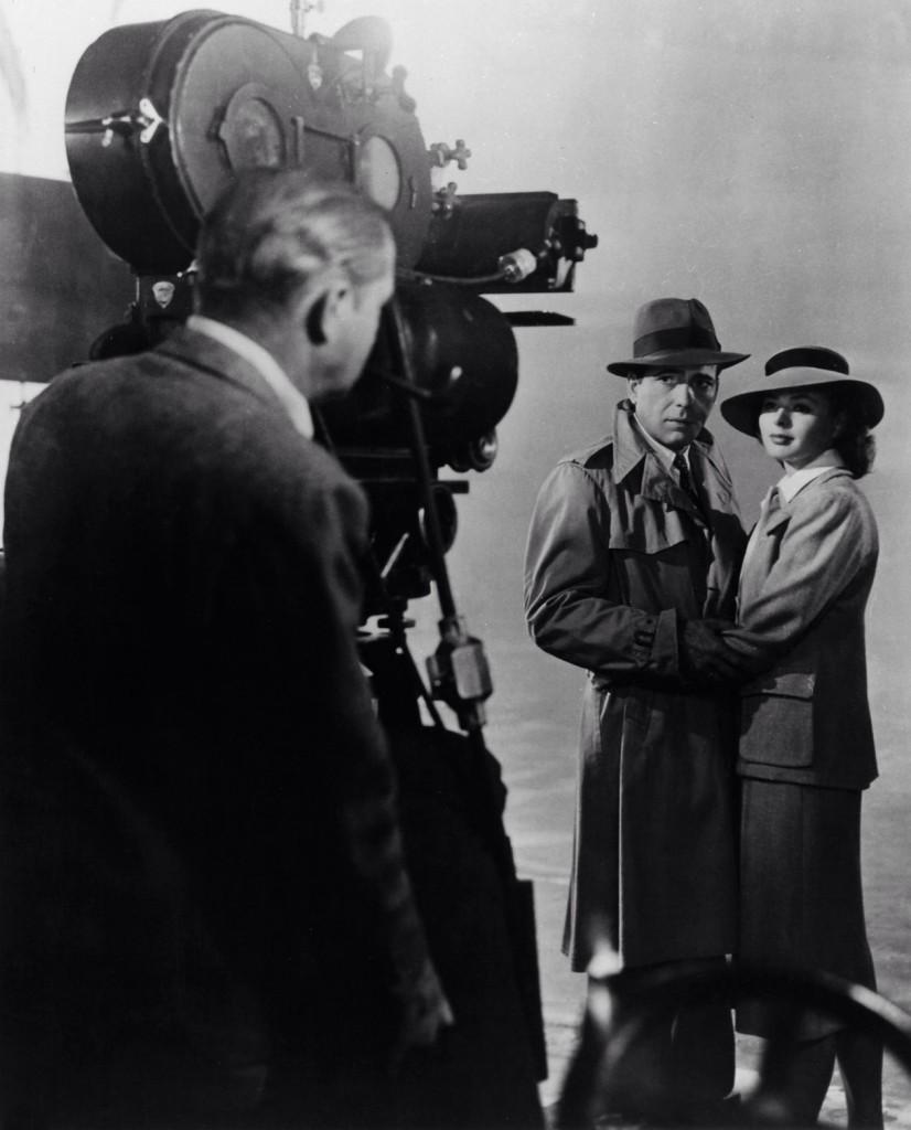 Humphrey Bogart Ingrid Bergman Casablanca